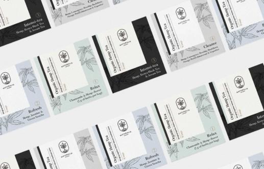 Nuevo diseño de etiquetas para té